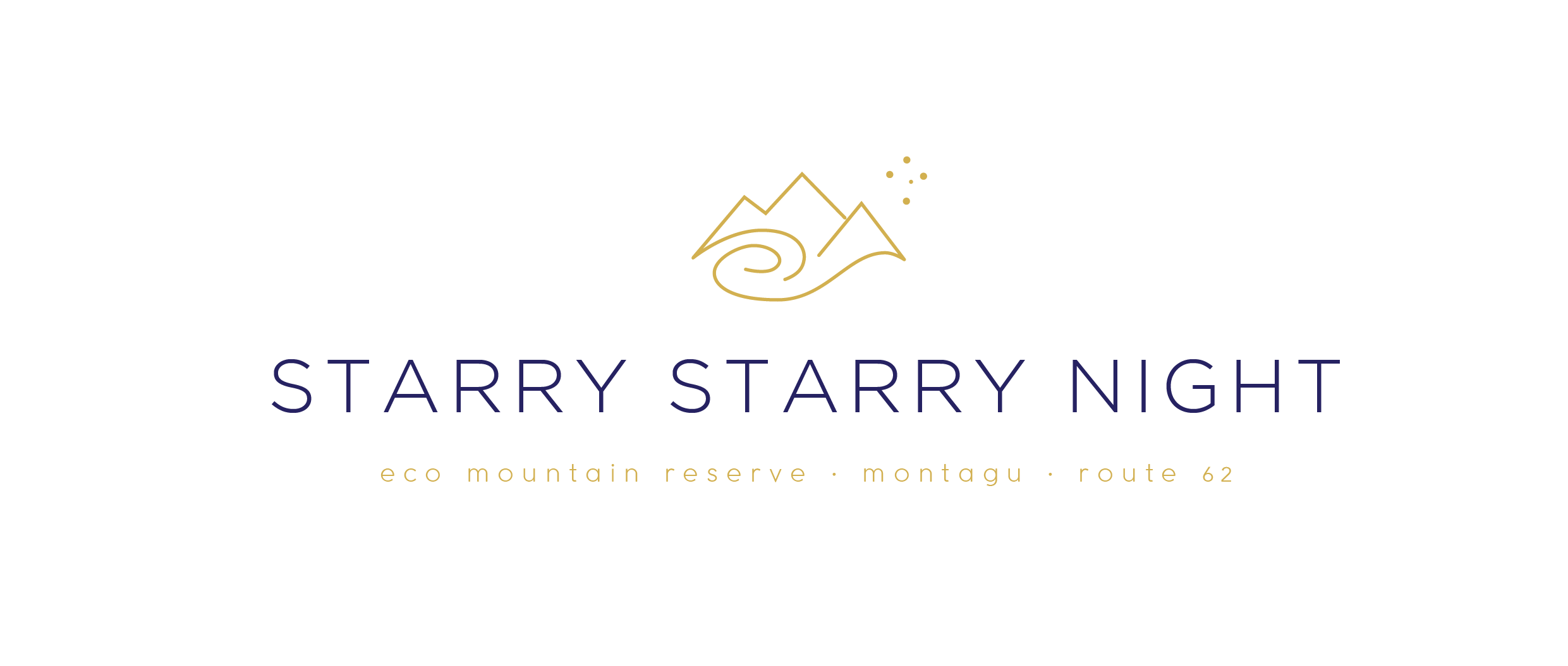 Starry Starry Night Route 62 Logo Colour